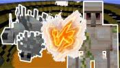 我的世界: 铁傀儡VS蠹虫