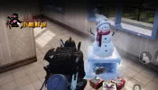 一开枪就变雪人