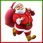 圣诞老人向前冲