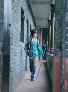 梦间集越女剑cosplay