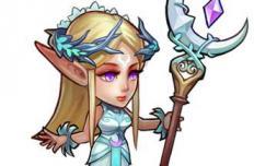 刀塔传奇月亮女神技能介绍 月亮女神怎么样