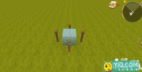 迷你世界静态水方块制作方法 迷你世界静态水怎么做1