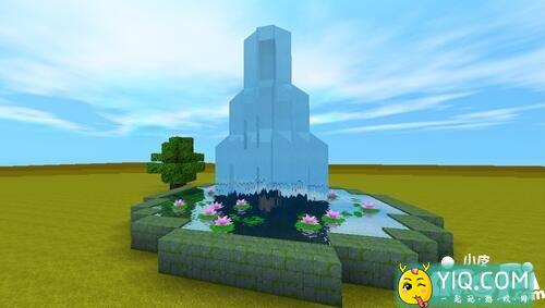 迷你世界喷泉建造方法 喷泉怎么建造5