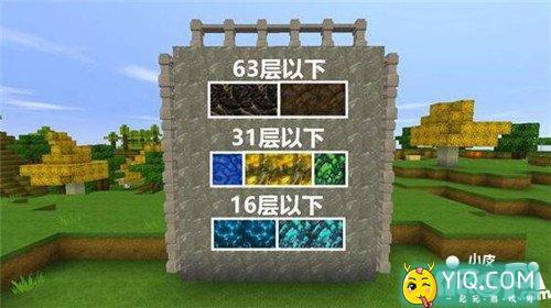 迷你世界矿石分布 矿石分布图2