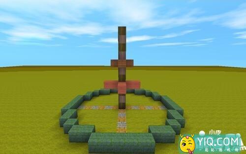 迷你世界喷泉建造方法 喷泉怎么建造2