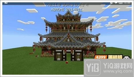 我的世界中式建筑教程 进阶建筑红亭65