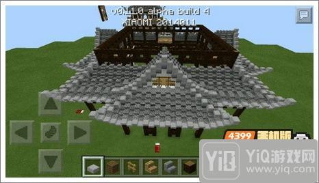 我的世界中式建筑教程 进阶建筑红亭25