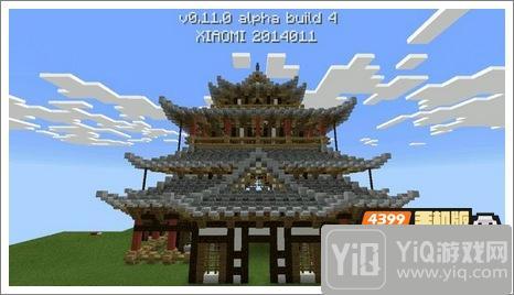 我的世界中式建筑教程 进阶建筑红亭62