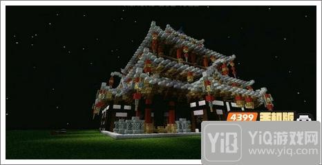 我的世界中式建筑教程 进阶建筑红亭72