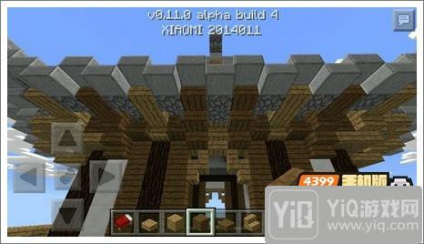 我的世界中式建筑教程 进阶建筑红亭61