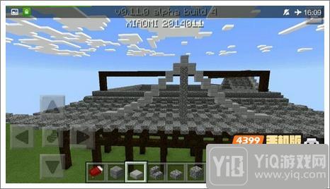 我的世界中式建筑教程 进阶建筑红亭14