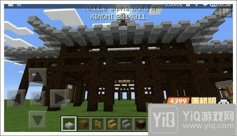我的世界中式建筑教程 进阶建筑红亭26