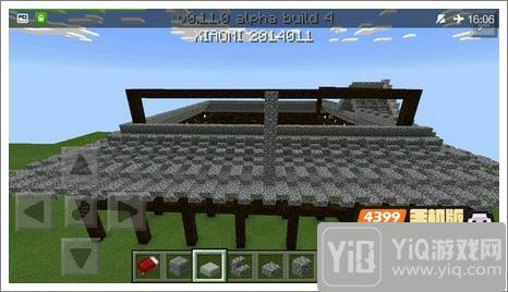 我的世界中式建筑教程 进阶建筑红亭13