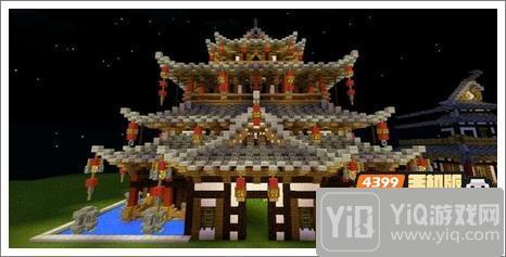 我的世界中式建筑教程 进阶建筑红亭71