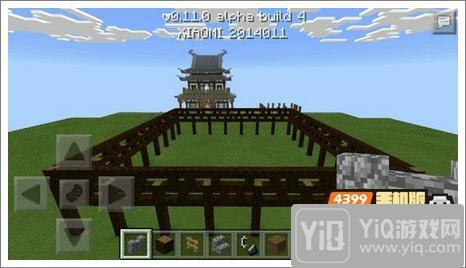 我的世界中式建筑教程 进阶建筑红亭1