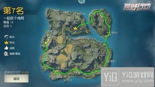 荒野行动玩家分享:我只想完成一次环岛旅行2