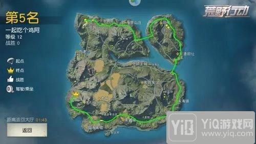 荒野行动玩家分享:我只想完成一次环岛旅行3