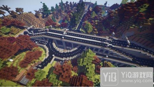 我的世界城市道路工程一览 城市发展的基石1