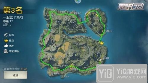 荒野行动玩家分享:我只想完成一次环岛旅行4
