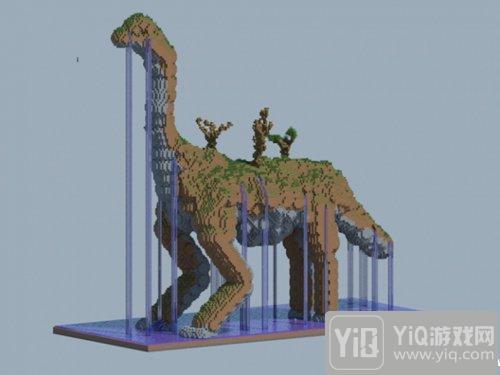 我的世界恐龙雕塑欣赏 这些恐龙你都了解多少?1
