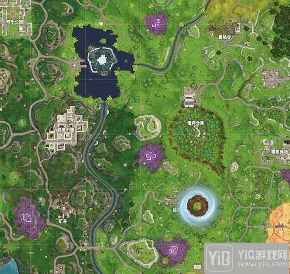 堡垒之夜手游空中浮岛移动 后续或将形成火山5