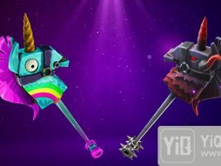 堡垒之夜手游闪电驱驰镐和彩虹独角兽是同一套?闪电驱驰镐效果展示