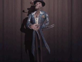 致敬斯文加利 第五人格杰克演绎之星时装公布