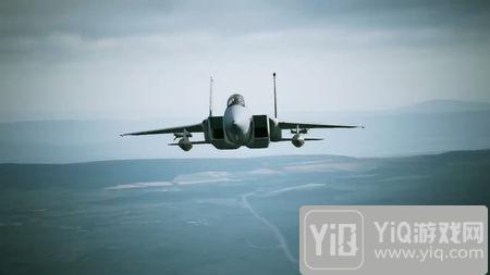 《皇牌空战7》新视频 知名战机F-15C亮相1