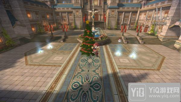 《天堂2血盟》双旦版本抢先看 Boss进城大狂欢1