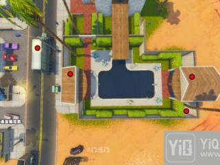 堡垒之夜棕榈天堂宝箱位置一览 棕榈天堂宝箱在哪