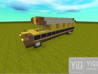迷你世界校车怎么做 校车制作教程