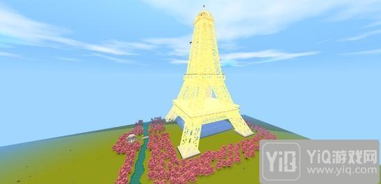 迷你世界创造存档:浪漫巴黎 好玩存档分享2