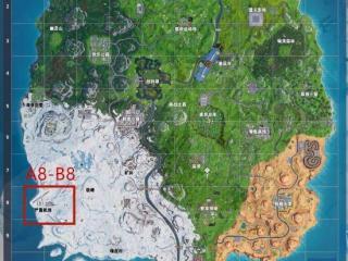 堡垒之夜严霜机场攻略 严霜机场资源点位介绍