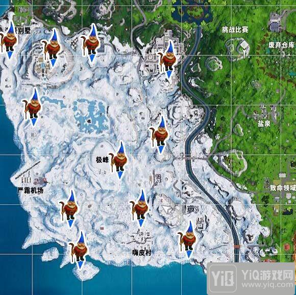 堡垒之夜寻找7个寒冷地精任务怎么完成-寻找寒冷地精任务完成攻略3