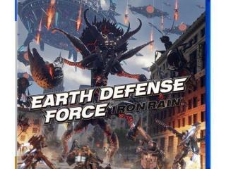 《地球防卫军 铁雨》公布PS4平台实体版封面图