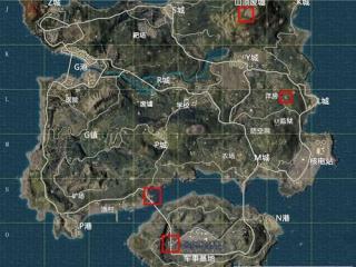 绝地求生刺激战场海岛地图年兽在哪 海岛地图年兽位置介绍