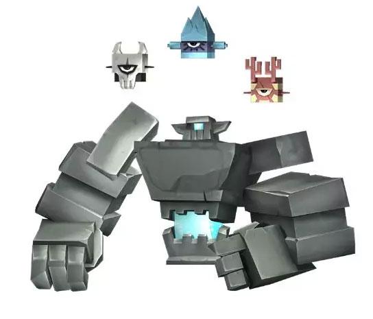 迷你世界怎么召唤石巨人 迷你世界石巨人召唤方法介绍1