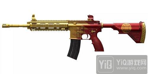 绝地求生刺激战场新春爆料 M416全新皮肤空降战场1