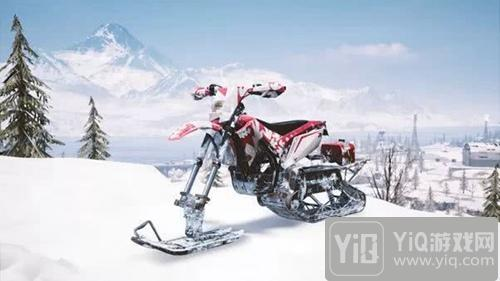 絕地求生刺激戰場輕型雪地摩托性能介紹 絕地求生手游載具解析1