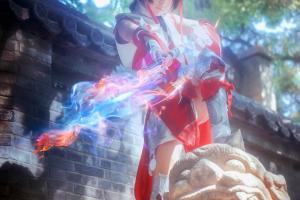 剑三cosplay美女图片赏析