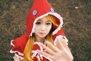 日本cosplay美女小红帽写真集