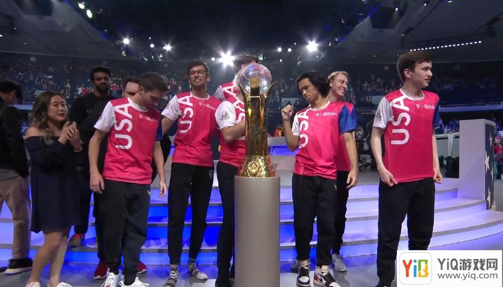《守望先锋》世界杯中国队负于美国队取得亚军