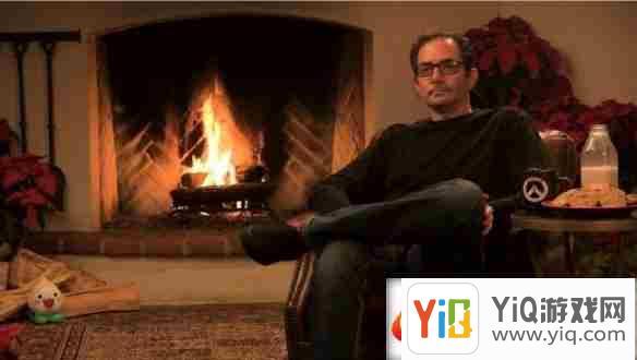 守望先锋圣诞直播再临 壁炉前取暖打盹和干瞪眼