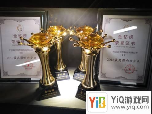 """百奥包揽广东省游戏产业协会""""金钻奖""""5项大奖"""